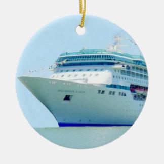 Splendid Cruise Ship Ornament