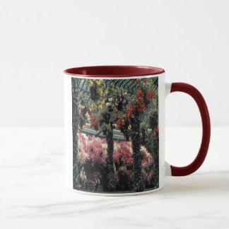 Splendid flower-garen on a ringer cup. mug
