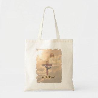 Splendid He is Risen! Tote Bag