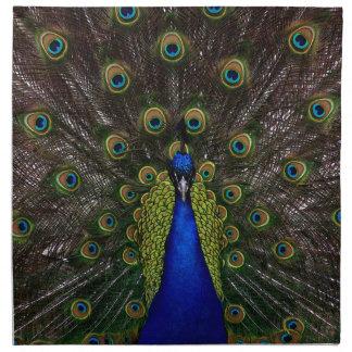 Splendid Peacock Cloth Napkin