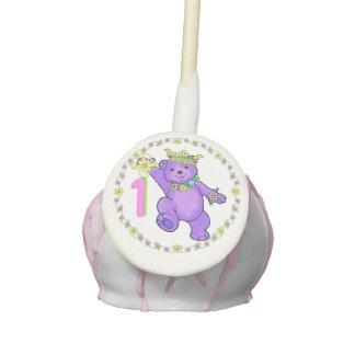 Splendid Royal 1st Birthday Party Celebration Cake Pops