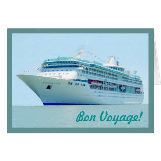 Splendid Sailing Bon Voyage Card