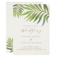 Splendid Summer Wedding Invitation