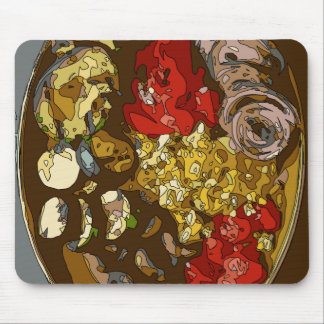 Splendid Vegetable Medley of Onions Tomatoes Mouse Pad