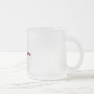 Splendid ZwangerMagazine mat glass sulk Frosted Glass Coffee Mug
