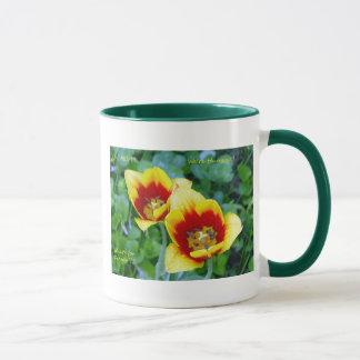 Splendiflorous Wit Mug - Yellow/Red Tulip