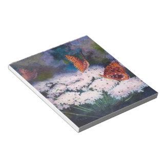 Splendor In the Meadow Butterfly Notepad