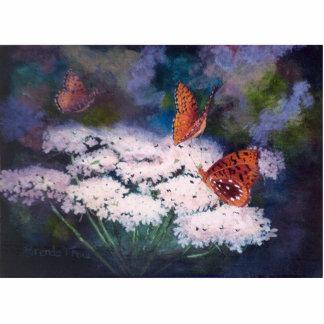 Splendor In The Meadow Butterfly Photo Sculpture