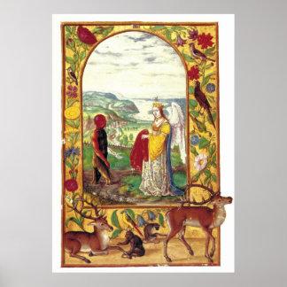 Splendor Solis manuscript 1598 Rebirth of the Soul Poster