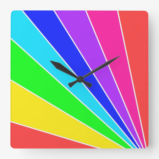 Splendorifica Square Wall Clock
