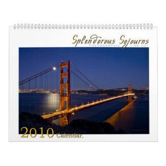 Splendorous Sojourns el calendario 2010