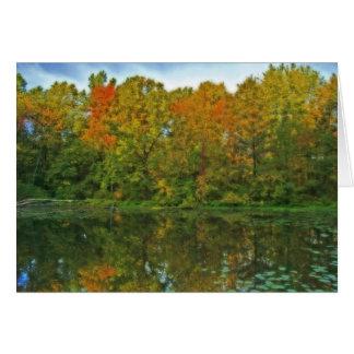 Splendours of autumn card