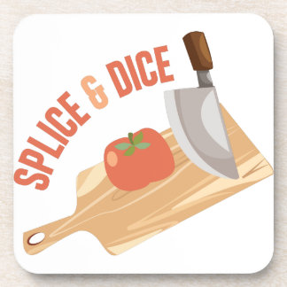 Splice & Dice Drink Coaster