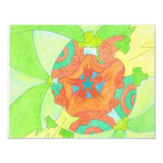 Spliffy Twist Flip 4.25x5.5 Paper Invitation Card