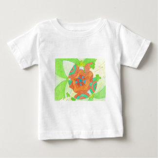 Spliffy Twist Flip Baby T-Shirt