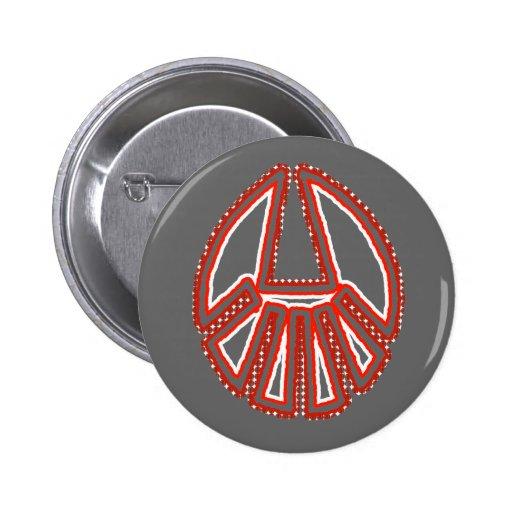 Splinter Fist Pinback Buttons