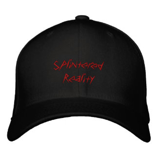 Splintered Reality hat Embroidered Baseball Caps