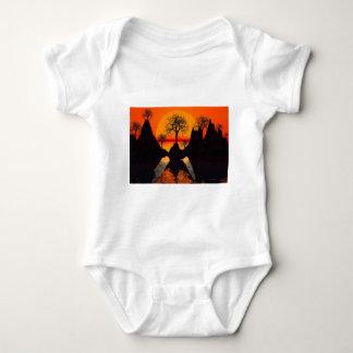 Splintered Sunlight Baby Bodysuit