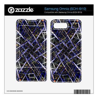 Splinters Skins For Samsung Omnia
