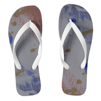 """Splish and Splash"" Flip Flops - an odd pair"