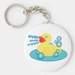 Splish Splash In The Bath! Key Chain