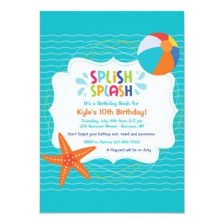 Splish Splash Invitation