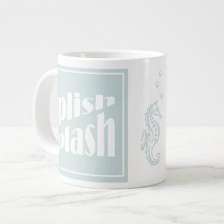 Splish Splash 20 Oz Large Ceramic Coffee Mug