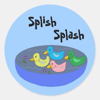 Splish Splash - stickers