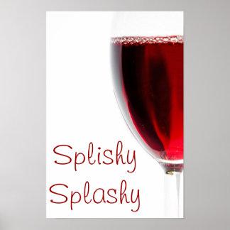 Splishy splashy poster