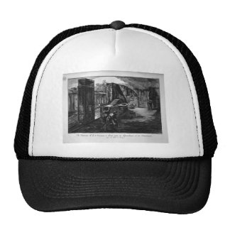 Split and elevations of the Tavern of the Priapus Trucker Hat