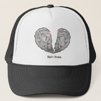 Split Brain Trucker Hat