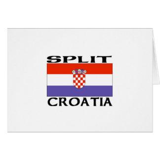 Split, Croatia Card