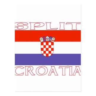 Split, Croatia Postcard