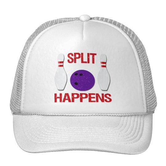 SPLIT HAPPENS TRUCKER HAT