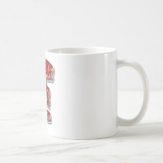 Split Of Fire 3D 3DD Half Round Coffee Mug
