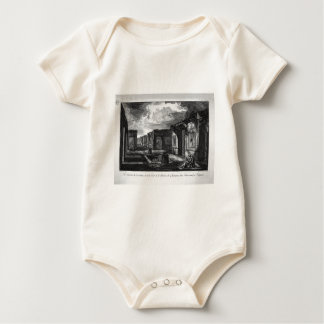 Split of the house aforesaid by Giovanni Battista Baby Bodysuit