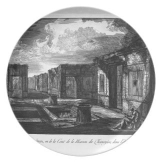 Split of the house aforesaid by Giovanni Battista Plate