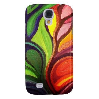 Split Panel Nature Painting HTC Vivid Cases