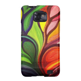 Split Panel Nature Painting Galaxy SII Covers