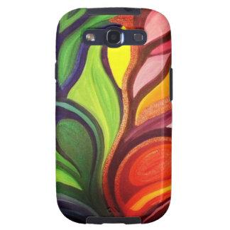 Split Panel Nature Painting Samsung Galaxy SIII Covers