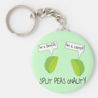 Split Peas onality Key Chain