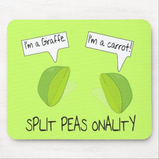 Split Peas onality Mousepad