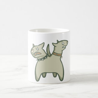 Split Personality Coffee Mugs