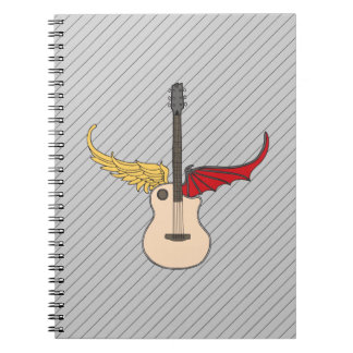 Split Personality Guitar Notebook