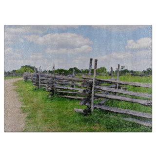 Split Rail Fence Cutting Board