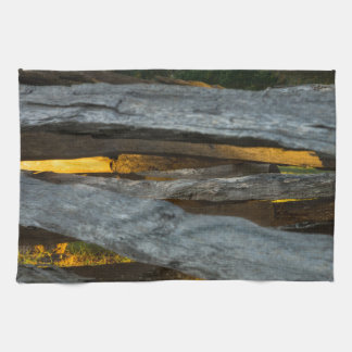 Split Rail Texture Hand Towel