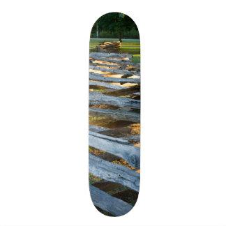 Split Rail Zig Zag Skateboard