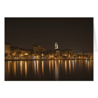Split Riva at night Card