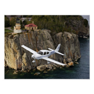 Split Rock Cirrus Poster