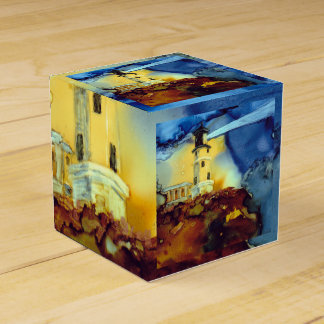 Split Rock Lighthouse At Night Favor Box